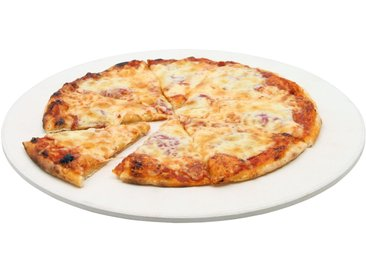 BBQ-Toro Pizzastein, � 38 cm Pizza Stein f�r Kugelgrill und mehr