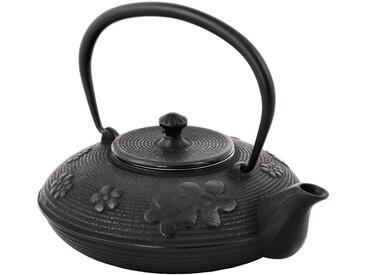 BBQ-Toro Asiatische Gusseisen Teekanne, 1,2 L, Asia Japan Style, TEA1
