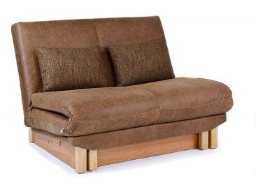 Schlafsofa Bettsofa Belini, in 3 Breiten, mit Relaxverstellung und Bettkasten, Design-Klassiker