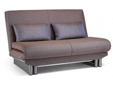 Schlafsofa Bettsofa Meri, in 3 Breiten, mit Relaxverstellung, Design-Klassiker