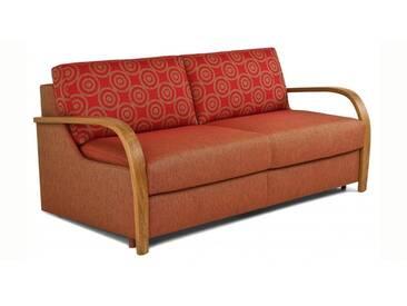 Schlafsofa Bettsofa Joli mit integrierter Matratze, Liegebreite bis 165 cm, Matratzenhöhe 14 cm / 17 cm