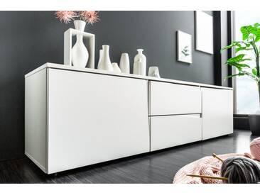 Modernes Lowboard ORGANIC LIVING 150cm weiß Modern Design