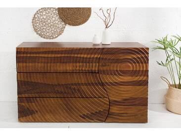 Massives Sideboard ILLUSION 120cm Sheesham Handarbeit