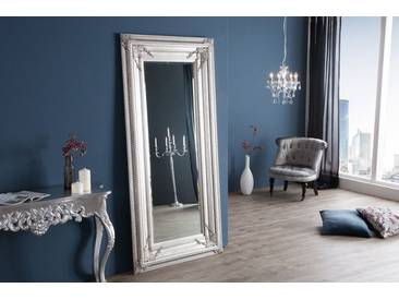 Barock Spiegel RENAISSANCE Antik Look silber 180x85cm Wandspiegel Standspiegel