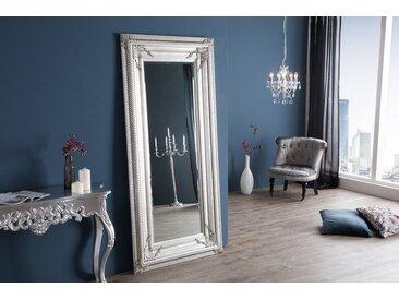 Barock Wandspiegel RENAISSANCE  180x85cm silber Antik Look Standspiegel