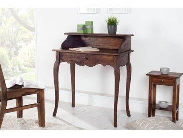 Eleganter Sekretär HEMINGWAY 80cm Mahagoni Schreibtisch