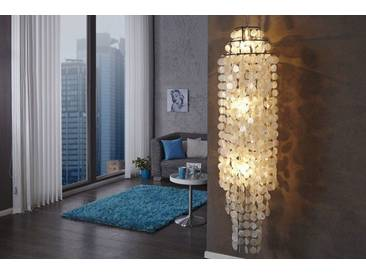Edle Perlmutt Lampe GIANT SHELL RING XL 150cm