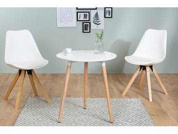 Retro Bistrotisch SCANDINAVIA MEISTERSTÜCK 60cm rund Scandinavian Design