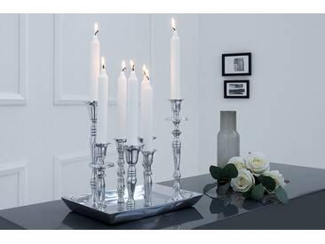 Kerzenständer Kerzenleuchter Kerzenhalter Victoria 5 flammig goldfarben