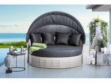 Outdoor Sonneninsel PLAYA LIVING M 165cm anthrazit inkl. Kissen und drehbarer Sitzfläche