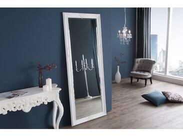 Großer Barock Spiegel RENAISSANCE weiß 185x75cm Wandspiegel