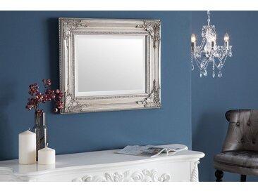 Barocker Wandspiegel SPECULUM 55x45cm silber variabel aufhängbar