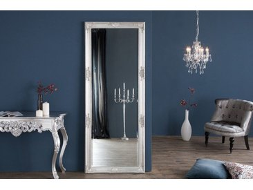 Großer Barock Spiegel RENAISSANCE 185x75cm silber Wandspiegel