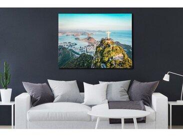 Eindrucksvolles Bild RIO 60x80cm Glas Wandbild Kunstdruck