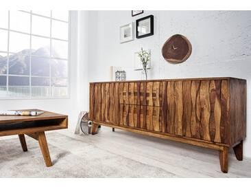 Design Sideboard RETRO 160cm Sheesham stone finish Design Klassiker