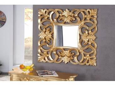 Opulenter Barock Spiegel VENICE 75cm gold antik Wandspiegel