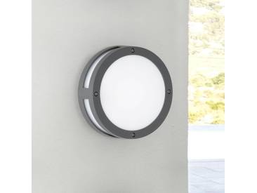 LED Außenwandleuchte Astoria in anthrazit, rund, Lichtaustritt vorne und rundherum - Wand- & Deckenleuchte - EEK A [A++ bis E]