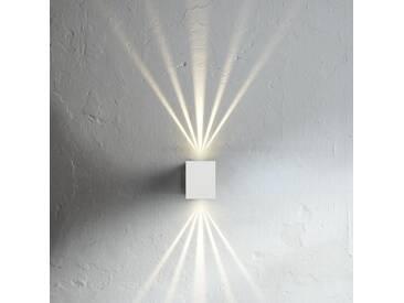 LED Wandleuchte Canto Kubi weiß mit Lichtschablonen - Wand- & Deckenleuchte - EEK A+ [A++ bis E]