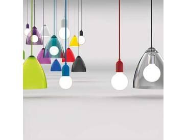 Pendelleuchte Energiesparlampe Kunststoff Acryl LED lila Modern multicolor Esszimmer tollem Lichteffekt  - EEK A+ [A++ bis E]