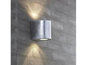 LED Außenwandleuchte Canto verzinkt mit Lichtschablonen - Wand- & Deckenleuchte - EEK A [A++ bis E]