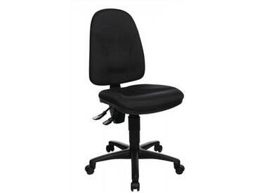 Bürodrehstuhl anthrazit Lehnen-H.520mm Sitzfläche B450xT440mm o.Armlehnen