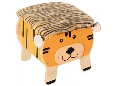 Spielzeugkiste/Hocker Tiger