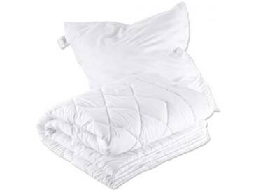 Mikrofaser Betten Set, Steppdecke Bettdecke + Kissen, Allergiker geeignet