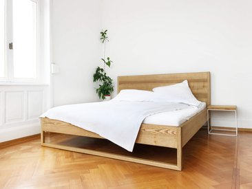 Pure Ash Bed - Massivholzbett aus Esche