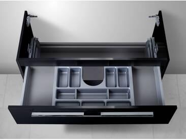 Unterschrank für Keramag iCon 90 cm, mit Kosmetikeinsatz Waschbeckenunterschrank