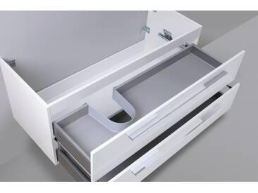 Waschtisch Unterschrank zu Laufen Kartell 60 cm Ablage rechts