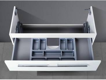 Waschtisch Unterschrank zu Keramag iCon 120 cm Doppelwaschtisch (1 Ablauf) Kosmetikeinsatz