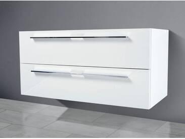 Waschtisch Unterschrank zu Keramag iCon 90 cm Ablagefläche rechts/links Waschbeckenunterschrank