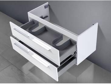 Waschtisch Unterschrank zu Keramag myDay Doppelwaschtisch 130 cm Waschbeckenunterschrank
