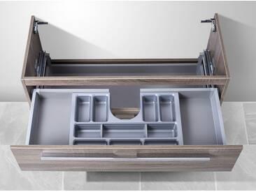 Waschtisch Unterschrank zu Keramag Smyle 120 cm Waschbeckenunterschrank mit Kosmetikeinsatz