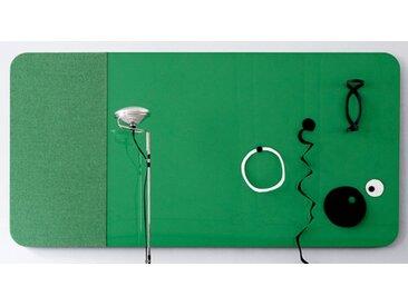 Glastafel LTX Modern Farbig Wand 200 x 100 cm Stoff Auswahl Farbe Optionen