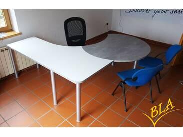 Schreibtisch Pendo Rondo L-Form Berater 1 Auswahl Farbe