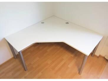Schreibtisch Pendo Rondo L-Form 2 Auswahl Größe Farbe