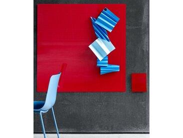 Glastafel LTX Modern Wand 75 x 75 cm Auswahl Farbe Optionen