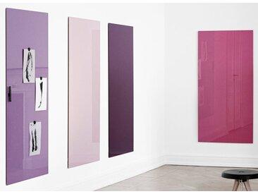 Glastafel LTX Modern Wand 75 x 150 cm Auswahl Farbe Optionen