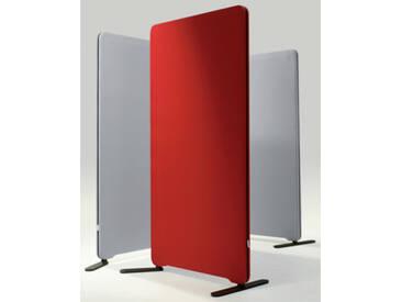 Stellwand Raumteiler Lintex Edge Round Akustik Stoff 100 x 180 cm
