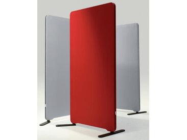 Stellwand Raumteiler Lintex Edge Round Akustik Stoff 80 x 165 cm