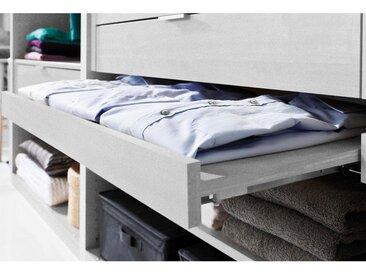 EINLEGEBODEN für 50er Elemente, ausziehbar Grau, Silberfarben