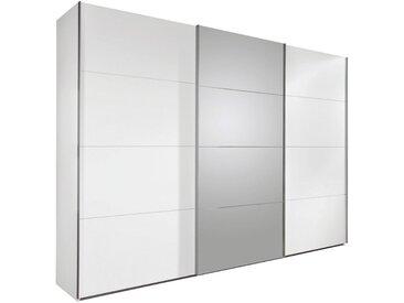 Carryhome: Schwebetürenschrank, Holzwerkstoff, Weiß, B/H/T 270 210 65