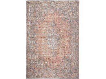 VINTAGE-TEPPICH 155/230 cm Rosa, Beige