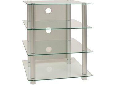 Livetastic: Tisch, Silber, B/H/T 54 70 45