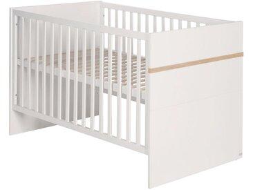 Roba: Gitterbett, Weiß, B/H 70 140
