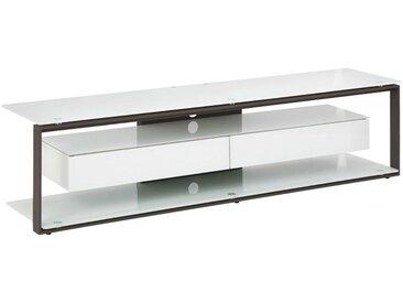 Livetastic: TV-Rack, Anthrazit, Weiß, B/H/T 170 42 40