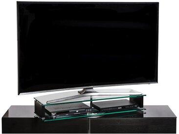 TV-Aufsatz, Klar, Schwarz, B/H/T 90 15 38