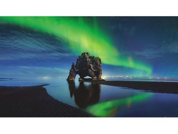 Acrylglasbild, Mehrfarbig, B/H/T 100 180 1,70