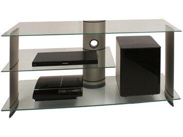 Livetastic: Tisch, Klar, Silber, B/H/T 120 56 40